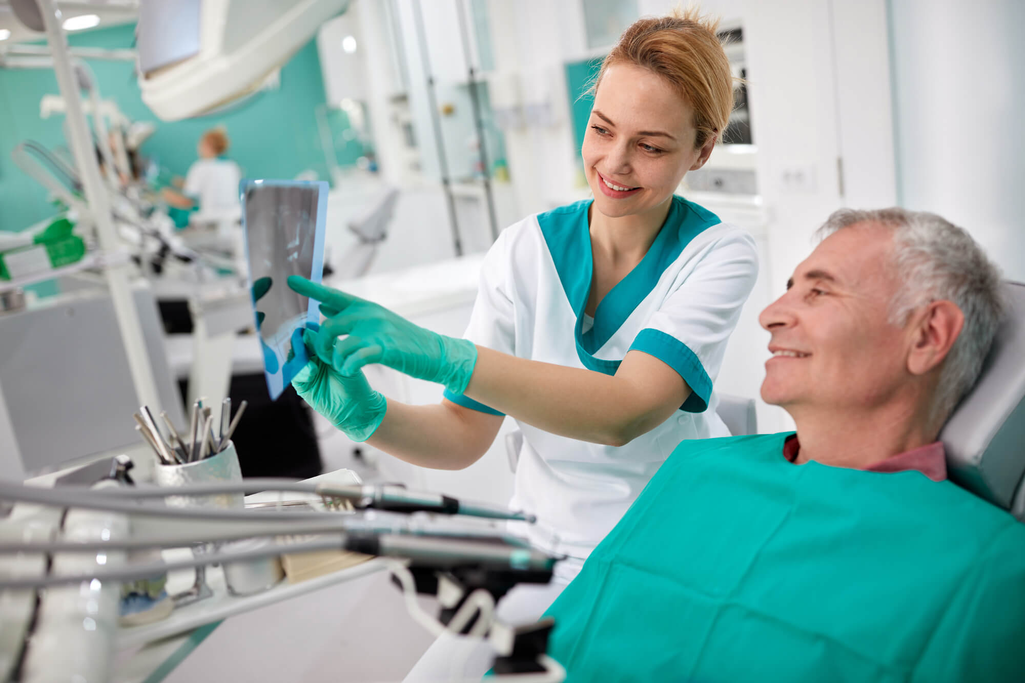 Oral cancer screening test in coral springs